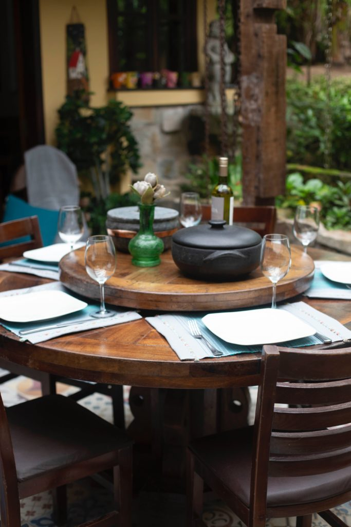 outdoor dining table is a budget friendly addition to your space