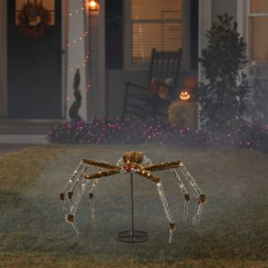 Light up spider