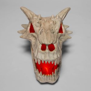 light up dragon skull